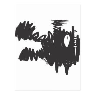 Sqiggz - Unk Monster Postcard