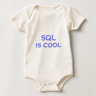 SQL is coolly Baby Bodysuit