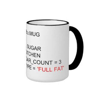 SQL PROGRAMMING TEA MUG