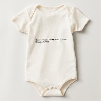 SQL Query Baby Baby Bodysuit