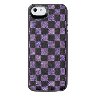 SQR1 BK-PR MARBLE iPhone SE/5/5s BATTERY CASE
