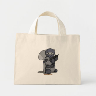 SQRL Agent Light Tote Bags