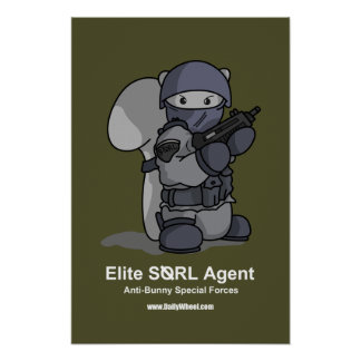 SQRL Agent Poster