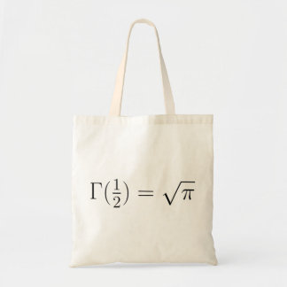 Sqrt(pi) from Gamma function Bags