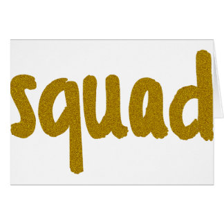 Squad Card