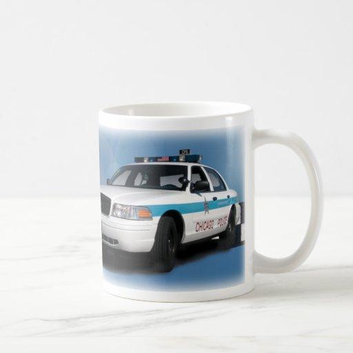 Squad Checkerband Blue Mugs
