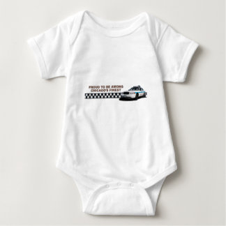 "Squad Checkerband ""Chicago's Finest"" Baby Baby Bodysuit"