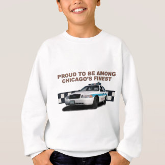 "Squad Checkerband ""Chicago's Finest"" (close-up) Sweatshirt"