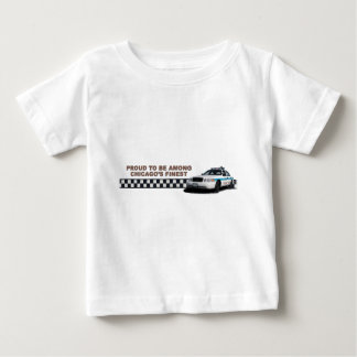 "Squad Checkerband ""Chicago's Finest"" Toddler Tshir Baby T-Shirt"