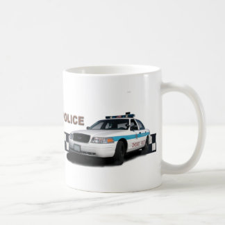 "Squad Checkerband ""Proud To Be The Police"" Coffee Mug"