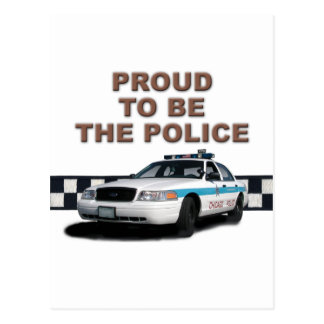 "Squad Checkerband ""The Police"" (close-up) Postcard"