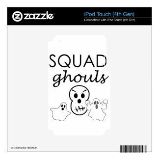 squad decal for iPod touch 4G