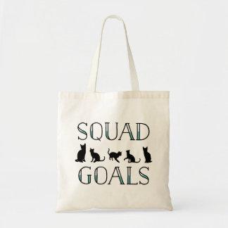 Squad Goals Cat Tote Bag