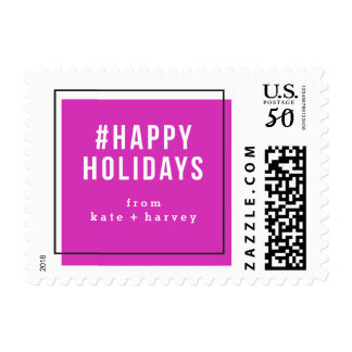 Squad Goals Holiday Postage Stamp