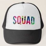 "SQUAD Hawaiian Trucker Hat<br><div class=""desc"">Perfect to match with the BRIDE trucker hat in our shop!</div>"