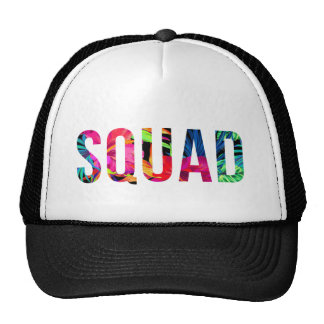 SQUAD Hawaiian Trucker Hat