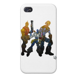 SQUAD 'M' iPhone 4 CASE