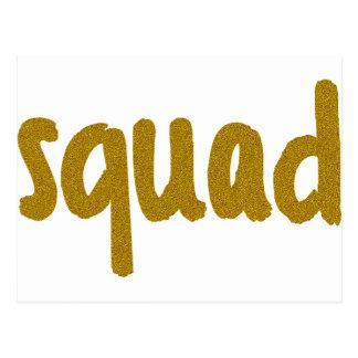 Squad Postcard