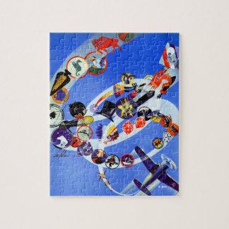 Squadron Insignia Jigsaw Puzzle