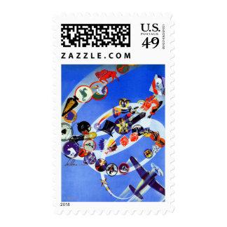 Squadron Insignia Postage Stamp