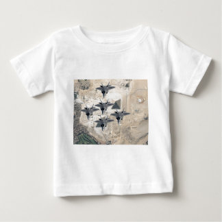 Squadron of F-22's Baby T-Shirt