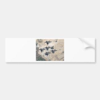 Squadron of F-22's Bumper Sticker