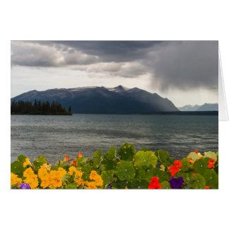 Squall on Atlin Lake, BC (Blank Inside) Card