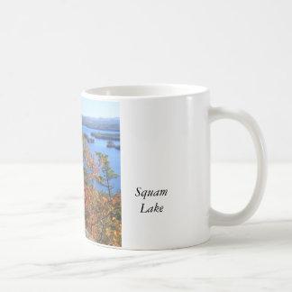 Squam Lake Rattlesnake Cliffs in Autumn Coffee Mug