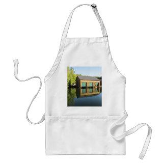 Squam River Boathouse Aprons