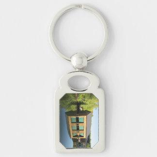 Squam River Boathouse Keychain