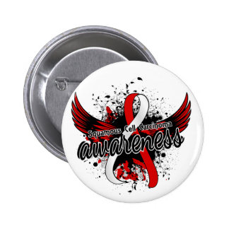 Squamous Cell Carcinoma Awareness 16 2 Inch Round Button