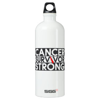 Squamous Cell Carcinoma Cancer Survivor Strong SIGG Traveler 1.0L Water Bottle