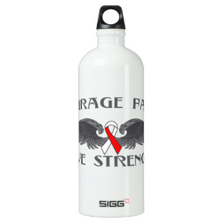 Squamous Cell Carcinoma Courage Faith Wings SIGG Traveler 1.0L Water Bottle