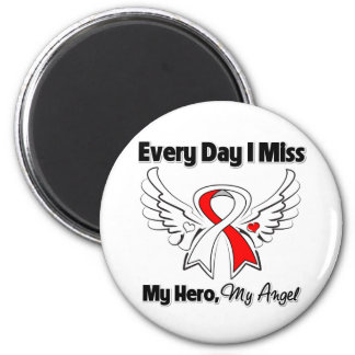 Squamous Cell Carcinoma Every Day I Miss My Hero Fridge Magnet