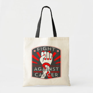 Squamous Cell Carcinoma Fight Against Cancer Budget Tote Bag