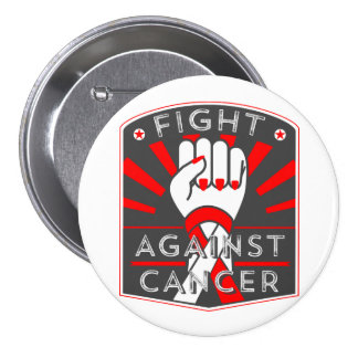 Squamous Cell Carcinoma Fight Against Cancer 3 Inch Round Button