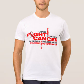 Squamous Cell Carcinoma Fight Collage Shirt
