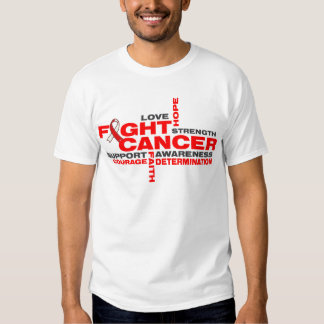 Squamous Cell Carcinoma Fight Collage T-shirt