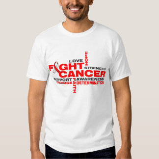 Squamous Cell Carcinoma Fight Collage Tshirt