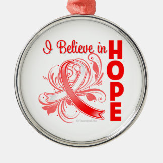 Squamous Cell Carcinoma I Believe in Hope Ornaments