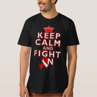 Squamous Cell Carcinoma Keep Calm Fight On T-shirt