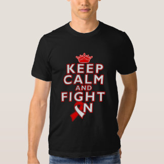 Squamous Cell Carcinoma Keep Calm Fight On T Shirts