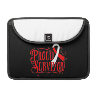 Squamous Cell Carcinoma Proud Survivor Sleeve For MacBook Pro