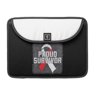 Squamous Cell Carcinoma Proud Survivor Sleeves For MacBook Pro