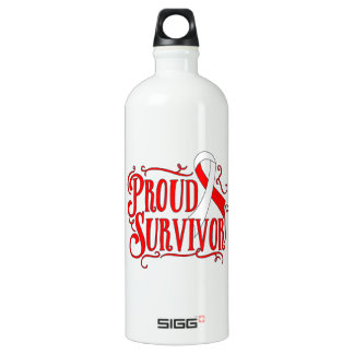Squamous Cell Carcinoma Proud Survivor SIGG Traveler 1.0L Water Bottle