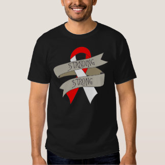 Squamous Cell Carcinoma Standing Strong T Shirts