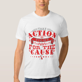 Squamous Cell Carcinoma Take Action Fight Tee Shirts