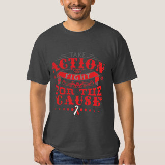 Squamous Cell Carcinoma Take Action Fight Tees