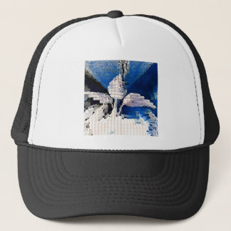 Square #2 design trucker hat