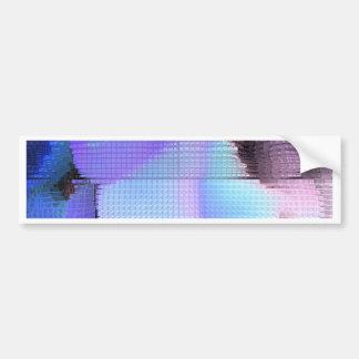 Square #3 design bumper sticker